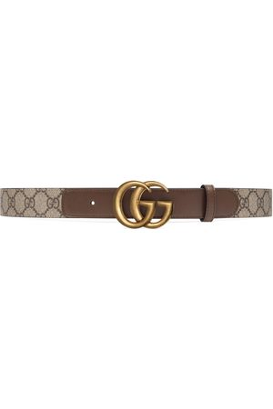Gucci GG belt with Double G buckle