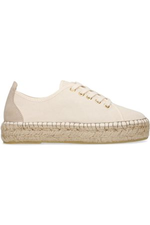 Manfield Canvas espadrille sneakers