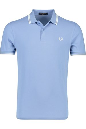 Fred Perry Lichtblauw poloshirt