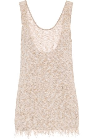 Alanui Exclusive to Mytheresa – Cotton-blend tank top