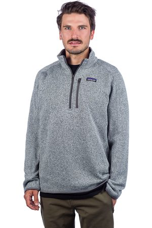 Patagonia Heren Pullovers - Better Sweater 1/4 Zip Fleece Pullover
