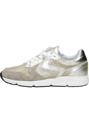 KEQ Meisjes Sneakers - Meisjes Sneakers - Goudkleur