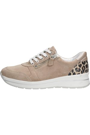 Choizz Dames Sneakers - Taupe