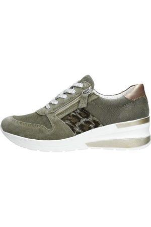 Choizz Dames Sneakers - Khaki
