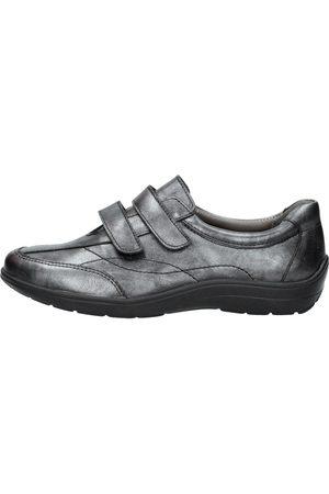 4xcomfort Dames Klittenbandschoenen - Brons