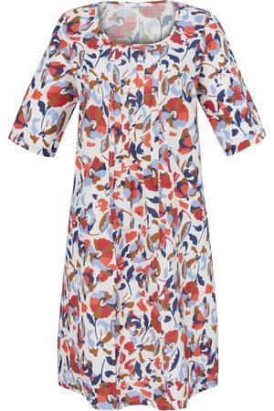 Emilia Lay Dames Geprinte jurken - Jurk met 3/4-mouwen en bloemdessin Van