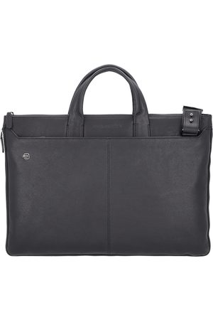 Piquadro Heren Laptop- & Businesstassen - Laptoptas 'Black Square