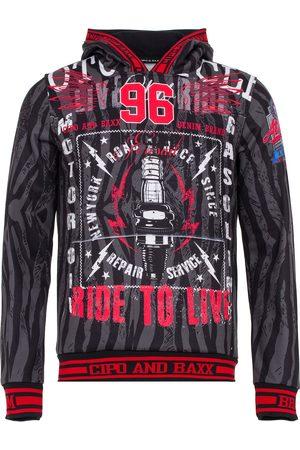 Cipo & Baxx Sweatshirt 'Biker