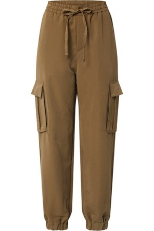 Urban classics Cargobroek 'Ladies Viscose Twill Cargo Pants