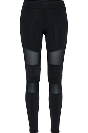 Urban Classics Curvy Dames Leggings & Treggings - Leggings 'Tech Mech