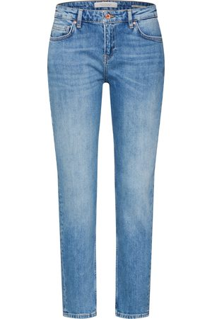 Scotch&Soda Dames Straight - Jeans 'The Keeper - Turquoise