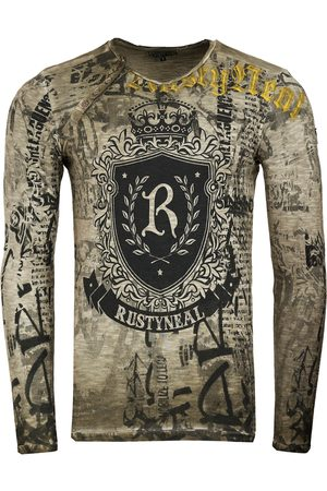 Rusty Neal Heren Lange mouw - Shirt