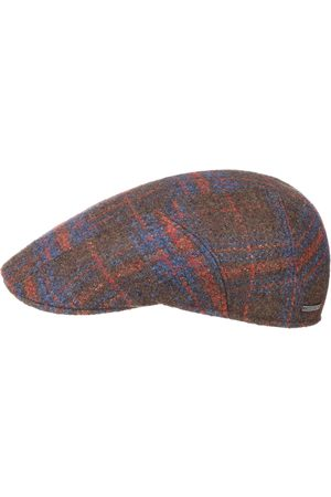 Stetson Heren Petten - Virgin Wool Check Pet by