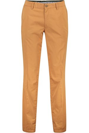 m.e.n.s. Katoenen chino oranje Madison