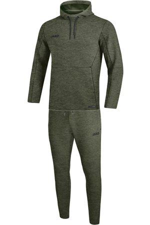 Jako Joggingpak met sweaterkap premium basics m9629-28