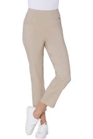 Casual Looks Dames Broeken - Stehmann 7/8-broek in hoogwaardige Tencel/stretchmix