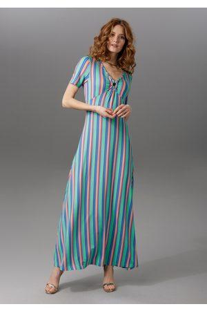 Aniston ANISTON Maxi-jurk met brede bandjes