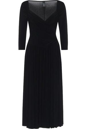 Norma Kamali Dames Midi jurken - Super Flair midi dress