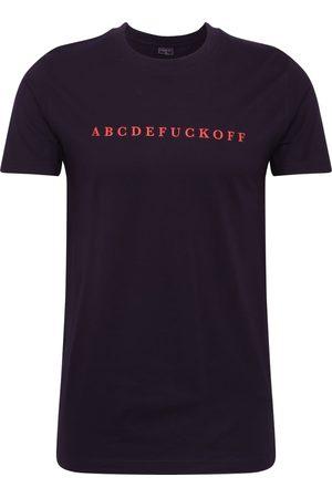 Mister Tee Heren Shirts - Shirt 'ABC