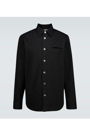 Bottega Veneta Heren Overhemden - Cotton overshirt