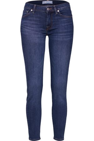 7 for all Mankind Dames Skinny - Jeans 'The Skinny Crop