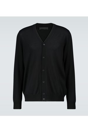 WARDROBE.NYC Wool knitted cardigan