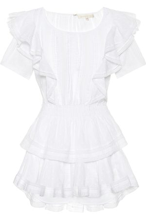 LOVESHACKFANCY Natasha cotton minidress