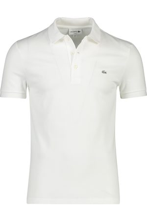 Lacoste Witte polo slim fit
