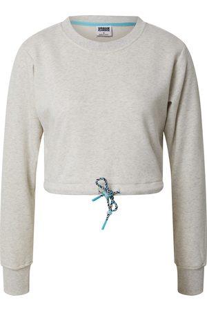 Urban classics Sweatshirt 'Ladies Oversized Cropped Crewneck