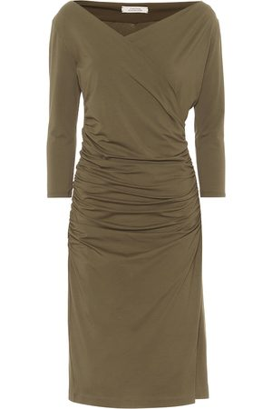 Dorothee Schumacher Fascinating Drapes ruched midi dress
