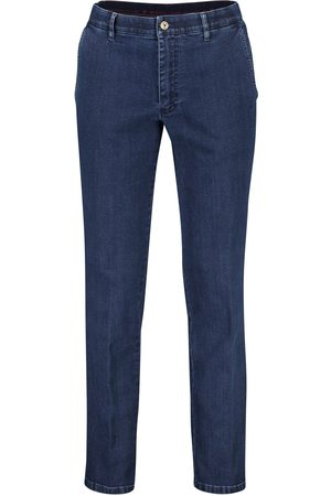 m.e.n.s. Heren Chino's - Chino Madison donkerblauw