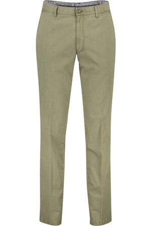 m.e.n.s. Heren Chino's - Chino Madison groen