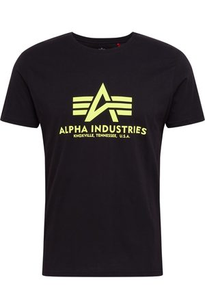 Alpha Industries Shirt 'Basic T Neon Print