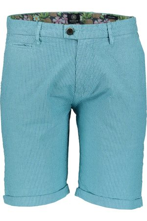 Dstrezzed Heren Shorts - Short - Slim Fit - Turquoise