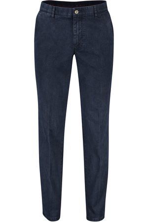 m.e.n.s. Heren Chino's - Chino donkerblauw Madison