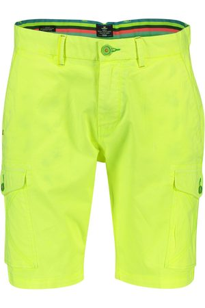 New Zealand Heren Shorts - NZA shorts Mission Bay tropical yellow