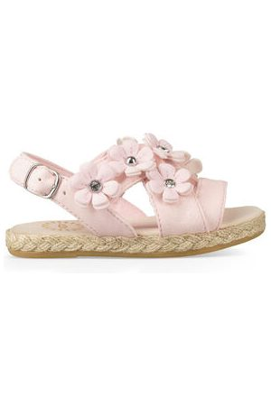 Ugg Allairey Sparkles Sandalen voor Peuters in Seashell Pink, maat 22 | Faux Leather/Synthetisch