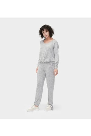 UGG Dames Outfit sets - Fallon Set Pyjama's voor Dames in Grey Heather, maat L   Rayon