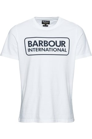 Barbour Shirt 'Essential Large Logo Tee