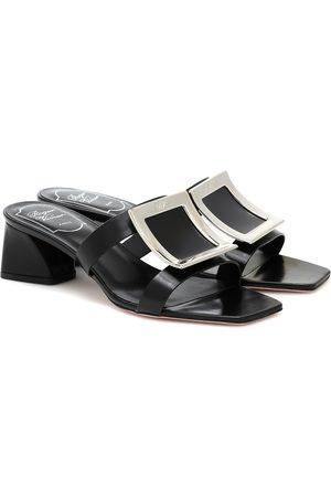 Roger Vivier Dames Sandalen - Bikviv' 45 leather sandals