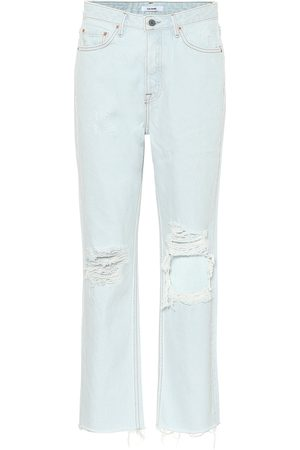 GRLFRND Dames Straight - Mica high-rise straight jeans