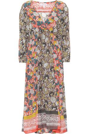 Velvet Voletta floral cotton maxi dress
