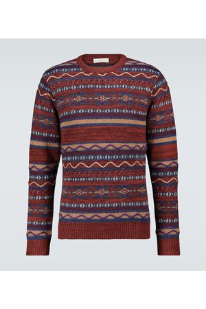 Etro Heren Sweaters - Jacquard patchwork sweater