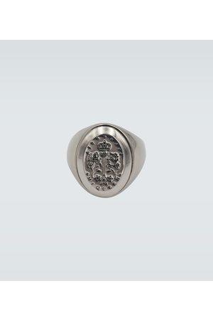 Alexander McQueen Signet metallic ring