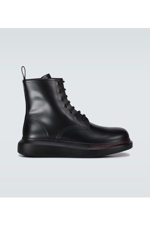 Alexander McQueen Hybrid lace-up boots