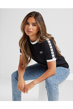 Fred Perry Tape Ringer T-Shirt Dames - - Dames
