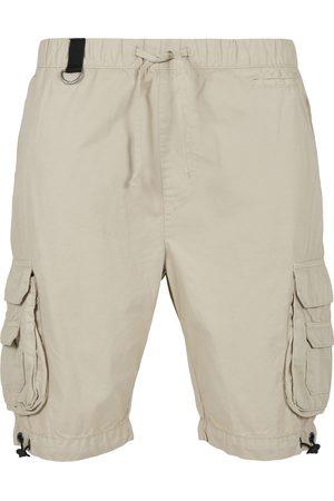 Urban classics Cargobroek 'Double Pocket Cargo Shorts
