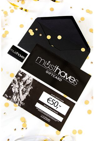 The Musthaves Musthave Giftcard €50
