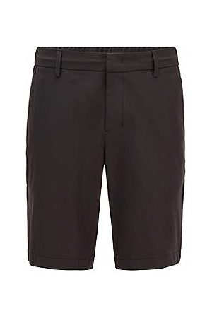 HUGO BOSS Heren Shorts - Slim-fit short van waterafstotende technische twill
