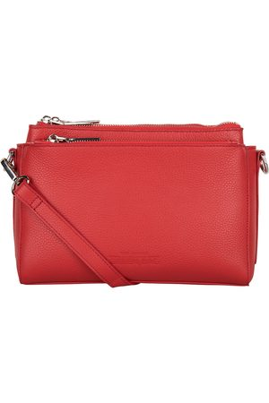 The Little Green Bag Clutches Cerise Crossbody